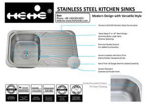 Drain Board Sink, Stainless Steel Sink, Kitchen Sink, Handmade Sink, Sinks pictures & photos