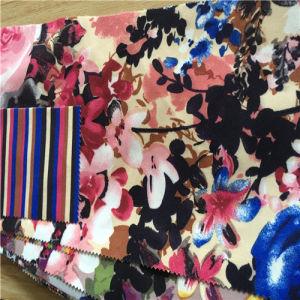 2016 New Design Print Velvet Fabric pictures & photos