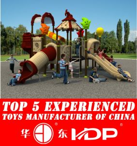 2015 Outdoor Playground Type Kids Play Equipment Slides (HD15A-059A) pictures & photos