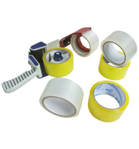 Best Waterproof Acrylic Yellow Carton Tape pictures & photos