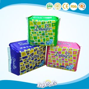 China Brands Winged Daily Use Soft Cotton Sanitary Napkin pictures & photos