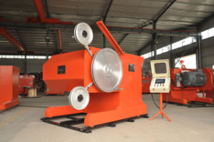75HP Wire Saw Quarrying Machine for Granite Cutting