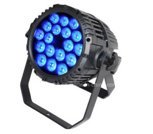 Outdoor Playground Lighting 18*10W 4in1 Waterproof LED PAR Can Lights pictures & photos