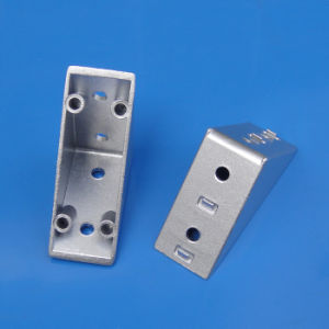 Zn-Alloy Corner Bracket for 40 Series Aluminum Profiles pictures & photos