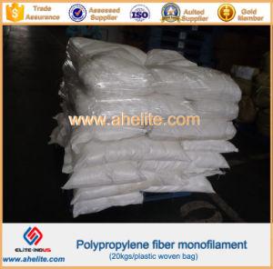 Polypropylene Fiber Monofilament for Concrete Wall pictures & photos