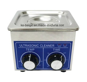 1.3L 60W Ultrasonic Cleaning Machine Ultrasonic Washer Ultrasonic Cleaner with Heating pictures & photos