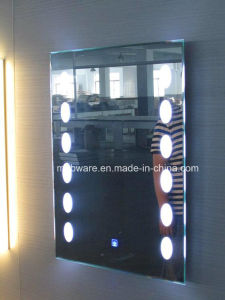 Custom Frameless LED Lighted Mirror for Five Star Hotel pictures & photos