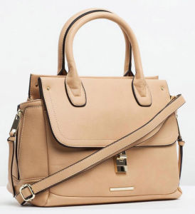 Stylish Trend PU Leather Women Handbag (LDO-15096) pictures & photos