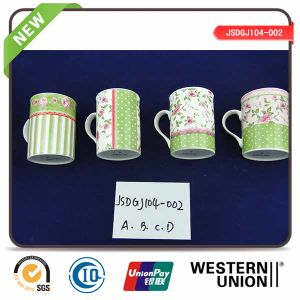 2015 New Design Exquisite Decal Porcelain Mug