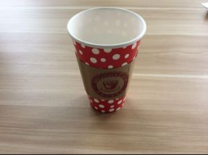 Cold Drinking Cup with Lid and Printing (YH-L155) pictures & photos