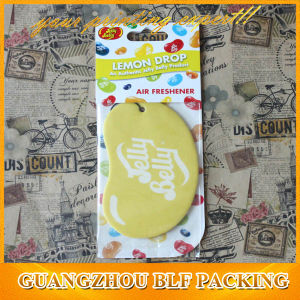 Private Label Hanging Paper Car Perfume Air Freshener (BLF-C055) pictures & photos