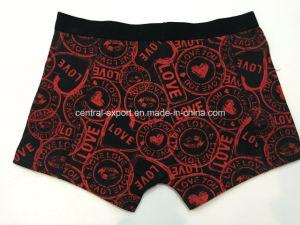 Reactive Print New Style Men′s Boxer Short Underwear pictures & photos