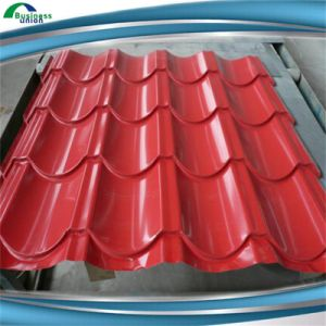 Competitive Price Corrugated Sheet Metal Roofing Tiles