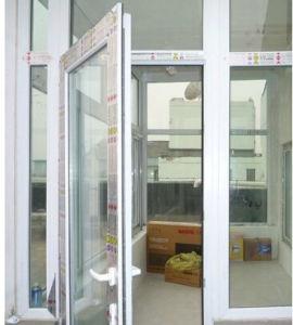 UPVC Side-Hung Opening Casement Window Easy Operate PVC Casement Window
