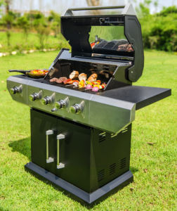 Powder Coating Stand Gas Grill BBQ with CSA pictures & photos