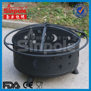 Circle Garden Fire Pit with Bbg Grill (SP-FT070) pictures & photos
