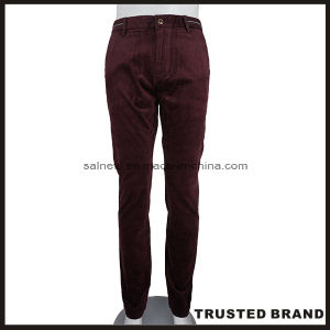 Made in China Men′s 100% Cotton Casual Pants (T606R)