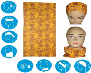 Custom Polyester Scarf Wholesale Tube Bandana pictures & photos