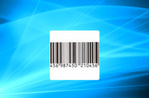 Self Adhesive EAS Security RF Sticker Soft Label pictures & photos