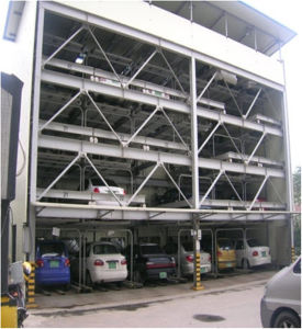 Lifting and Sliding Parking Equipment Automatic Garage pictures & photos