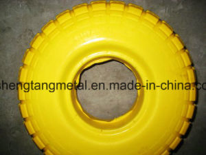 """High Quality PU Solid Wheel 10"""" pictures & photos"""