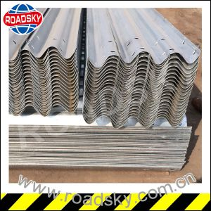 Traffic Safety Hot DIP Galvanized Metal Guardrail pictures & photos