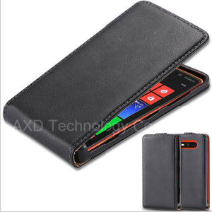 Classic Korean Style Genuine Leather Case for Nokia Lumia 820 N820 Flip Vertical Slim Cover Shell for Nokia Lumia 820