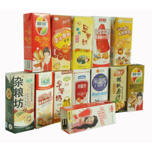 Fruit Juice Packaging Aseptic Paper Box pictures & photos