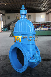 Ductile Iron BS5163 Non Rising Stem Gate Valve with Bypass (Z45X-10/16) pictures & photos