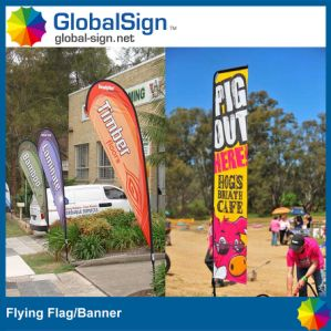Promotional Beach Teardrop Flying Flag (Style B) pictures & photos