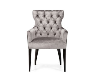 Wood and Fabric Hotel Chair pictures & photos