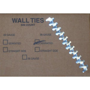 Masonry Wall Tie S-28 Guage Galvanized Corrugated Steel pictures & photos