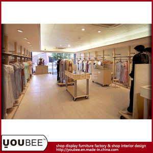 Fashion Ladies Garment Retail Store Furniture, Movable Display Cabinet pictures & photos