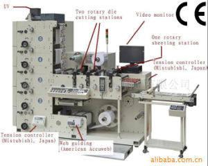 5 Colour Flexo Printing Machine with Die Cutting Station pictures & photos