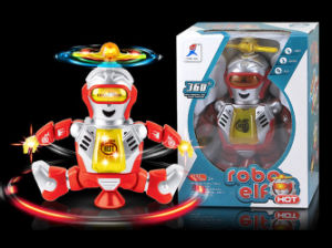 Funny Robot Plastic B/O Cartoon Toy (H4871008) pictures & photos