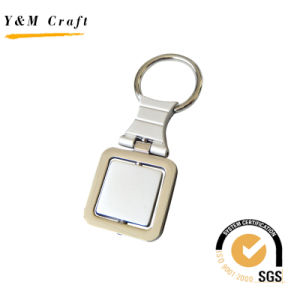 Personalized Customized Blank Round Metal Key Ring (Y02451) pictures & photos