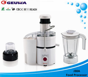 Geuwa 75mm Wide Feed Opening Electric 800W Powerful Juicer (J30A) pictures & photos