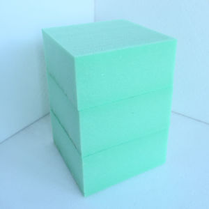 Fuda Extruded Polystyrene (XPS) Foam Board B2 Grade 300kpa Green 50mm Thick