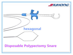 Single Use Polypectomy Snares Forceps Loop with CE ISO Approved pictures & photos