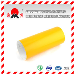 Advertisement Grade Pet Yellow Reflective Material (TM3300) pictures & photos