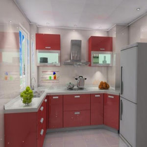 Ready Assemble Kitchen Cabinet Zhuv Factory (ZH-C038) pictures & photos