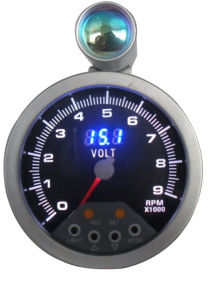 "3 3/4"" (95mm) Tachometer for 7 LED Color Tachometer (820) pictures & photos"