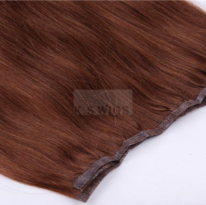 Newly Glue on Machine Weft Hair Extension pictures & photos