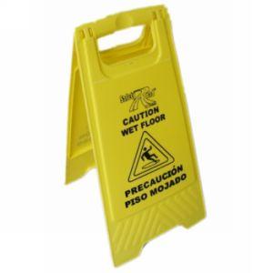 Plastic Caution Board Wet Floor Warning Sign (JMC-402F) pictures & photos