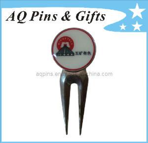 Custom Golf Divot Tool with Offset Printing Logo (golf-13) pictures & photos