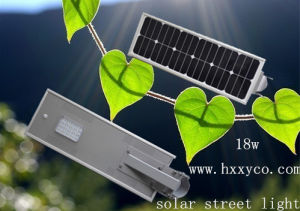 18W Solar Power LED Solar Street Lighting pictures & photos