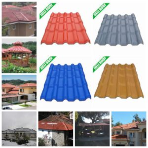 Excellent Corrosion Resistance Plastic Roofing Tiles for Villa pictures & photos