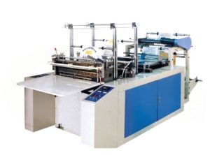 Computer Heat-Sealing & Cold-Cutting Bag-Making Machine (SL600-1200) pictures & photos