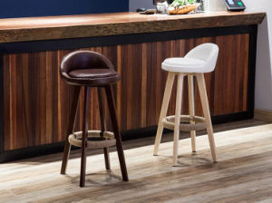 Bar Chairs Bar Stool Modern Style Solid Wooden Stool (M-X2050) pictures & photos