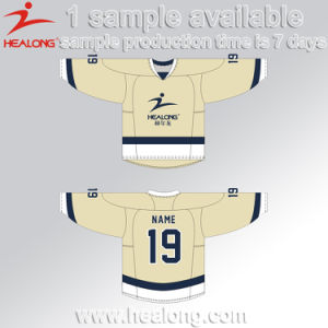 Healong Full Sublimation Polyester Ice Hockey Jersey pictures & photos